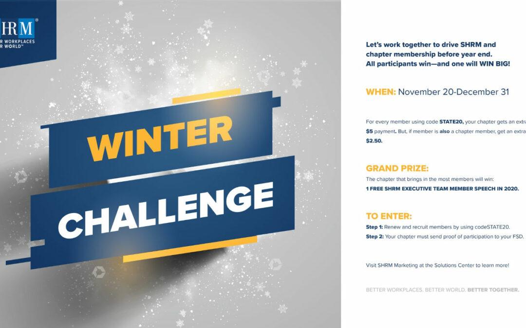 SHRM Winter Challenge 2019